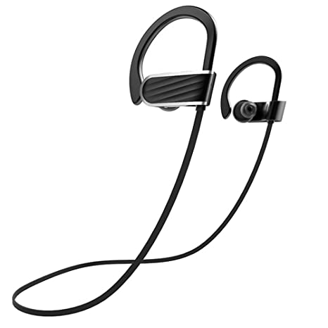 ef538205cac Acid Eye IPX7 Waterproof wireless earphones.HD Sound Quality With Deep Bass  bluetooth headphone with 1 year warranty (Black): Amazon.in: Electronics