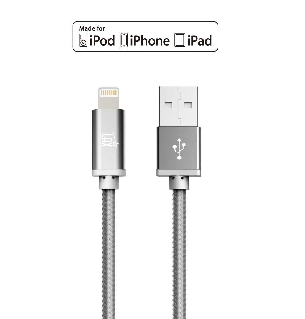Iphone Charging Cable Wiring Diagram Schematics 4 Charger Cord Amazon Com Lightning Mfi Certified Durable Ipod