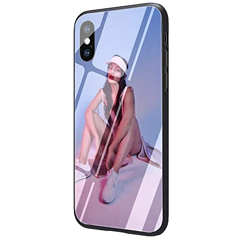 Inspired by charlie xcx Phone Case Compatible With Iphone 7 XR 6s Plus 6 X 8 9 Cases XS Max Clear Iphones Cases High Quality TPU Sticker Merchandise 3305330505 Tge Q12 Blame It On
