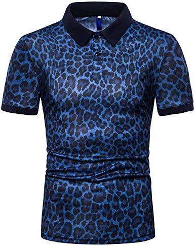 [해외]Aniywn Mens Floral Dress Shirts Long Sleeve Casual Leopard Print T-Shirts Summer Office Top Blouse Slim Fit Blue / Aniywn Mens Floral Dress Shirts Long Sleeve Casual Leopard Print T-Shirts Summer Office Top Blouse Slim Fit Blue