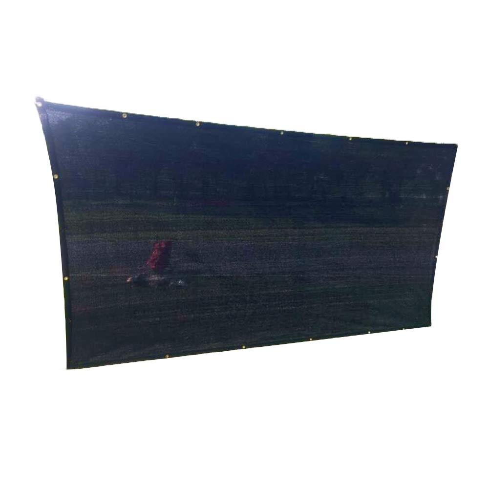 LIANGLIANG-fang shai wang Rete Parasole Serre Antivento All'aperto Capannone Anti-UV Protezione Solare Traspirante Anti età, Nero, 15 Taglie (colore   Nero, Dimensioni   4x6m)