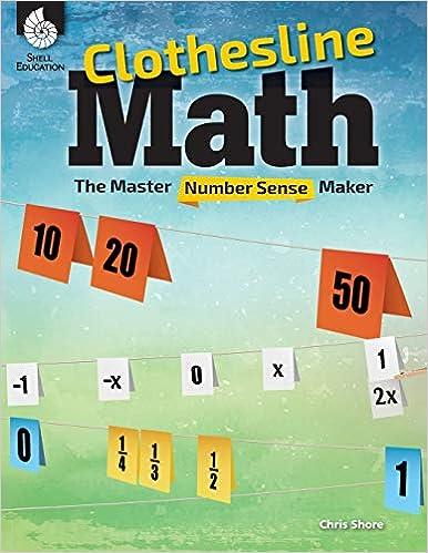 clothesline math number talk books