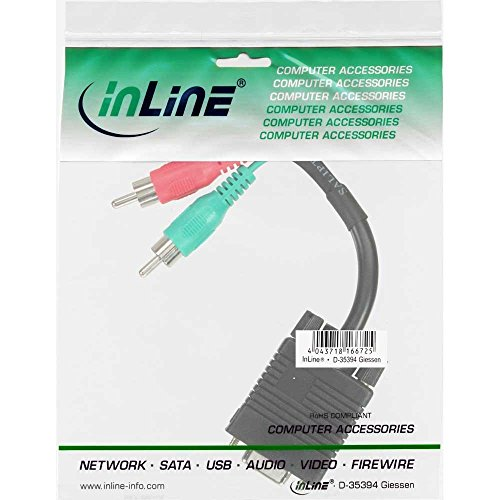 InLine 17200 – Adapter für Kabel: Amazon.de: Computer & Zubehör