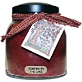 """A Cheerful Giver """"Bonfire By The Lake"""" Papa Jar Candle, 34-Ounce"""