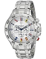 Nautica Mens N20503G NST Stainless Steel Watch
