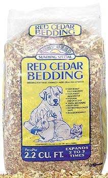 Small Animal Supplies Pressed Cedar 2.2 Cubic Feet (Bulk) (Cedar Bedding Pressed)