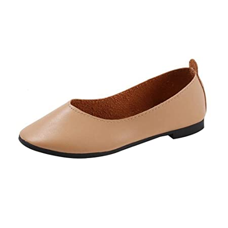 2b0752a0c HUAIX HOME Ladies Womens Flats Boat Shoes Comfortable Flats Slip On Soft  Casual Loafers Single Shoe