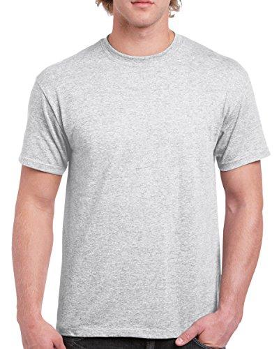 Gildan Men's Ultra Cotton Crewneck T-Shirt, Ash, XX-Large