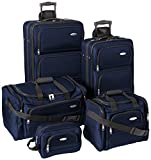 Samsonite Luggage Set - Five Piece Nested Set (One size, Navy)