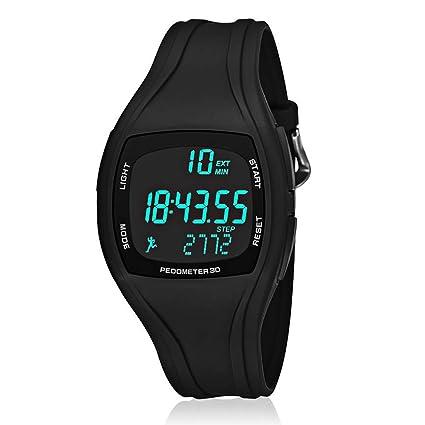 Amazon.com: CFGem - Reloj deportivo digital multifuncional ...