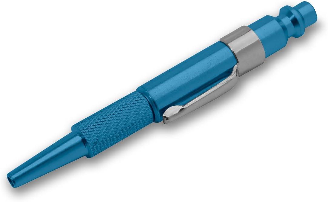 """Adjustable Aluminum Pocket Blow Gun Color Blue Style /""""M/"""""""