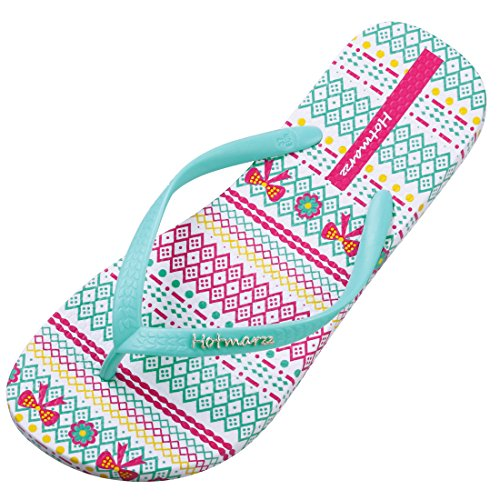 62de22cf712c Hotmarzz Women s Flip Flops Flower Print Sandals Fashion Beach Slippers hot  sale 2017