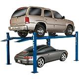 - BendPak 4-Post Wide/High Lift, - 9,000lb. Capacity, Blue, Model# HD-9XW