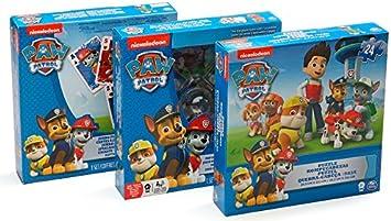 Patrulla Canina Pack de 3 Juegos (BIZAK 61929811): Amazon.es ...