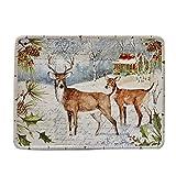 Winter's Lodge Rectangular Platter