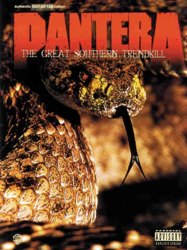 Pantera -- The Great Southern Trendkill: Authentic Guitar TAB