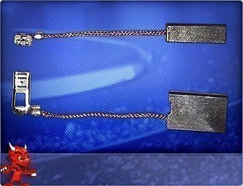 Balais Charbon Carbone pour BTI SH 5 E Perforateur//Burineur//6,3x12 5 mm
