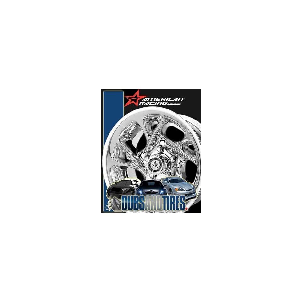 15 Inch 15x8 AMERICAN RACING PERFORM wheels NITRO Chrome wheels rims
