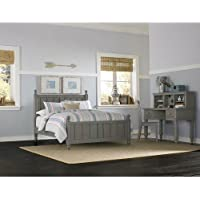 NE Kids Lake House Kennedy Full Panel Bed in Stone