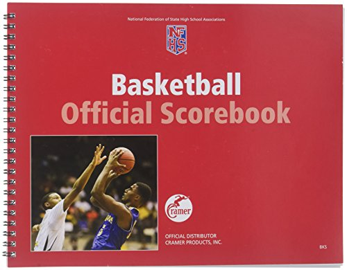 Cramer NFSHSA Scorebooks for Various Sports, Scorebook for Soccer, Volleyball, Baseball, Softball, Basketball, Wrestling, Cross Country, Field Hocking, Swimming & Diving, Track & Field, Score Books