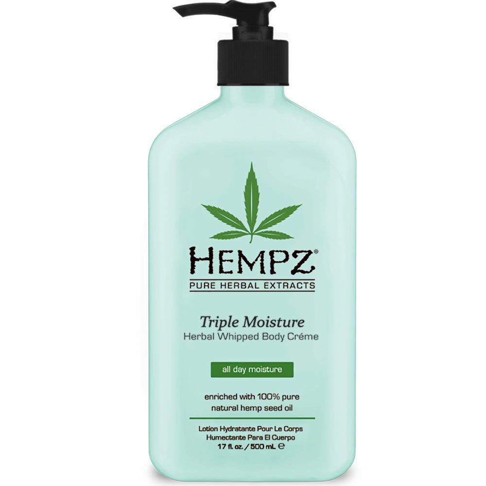 Hempz Triple Moisture Herbal Whipped Body Creme, 17 Fluid Ounce