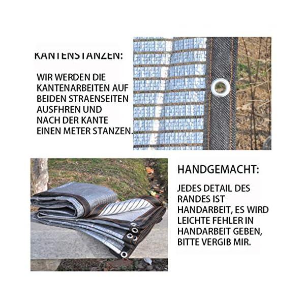 VN Ombra Bianca Parasole Panno Parasole Rete di Alluminio Foglio pianta grassa Riflettente Gazebo Protezione Solare… 3 spesavip