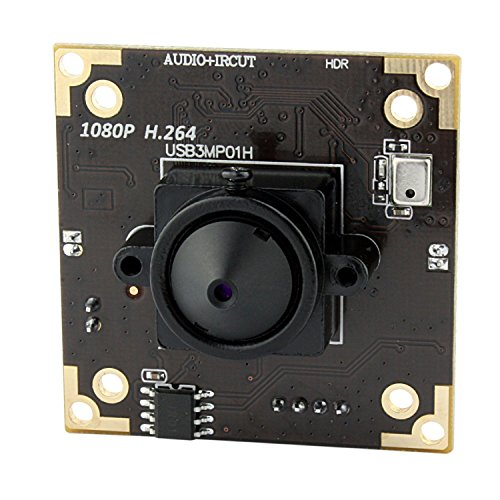 3.0 megapixel WDR usb camera with 3.7mm pinhole lens adopt MICRON AR0331 sensor, Dynamic Range up to 100 dB by ELP (Image #1)
