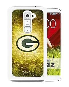 LG G2 Case,100% brand new Green Bay Packers 26 White Case For LG G2