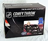 NHL Philadelphia Flyers Comfy Throw Blanket with Sleeves