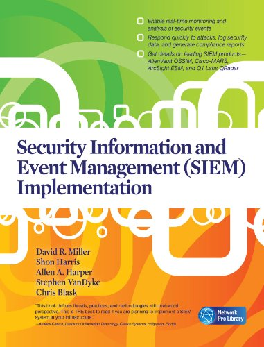 Security Information and Event Management (SIEM) Implementation (Network Pro Library)
