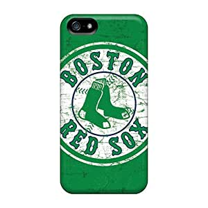 Iphone 5/5s AXh2345frZC Boston Red Sox Tpu Silicone Gel Case Cover. Fits Iphone 5/5s
