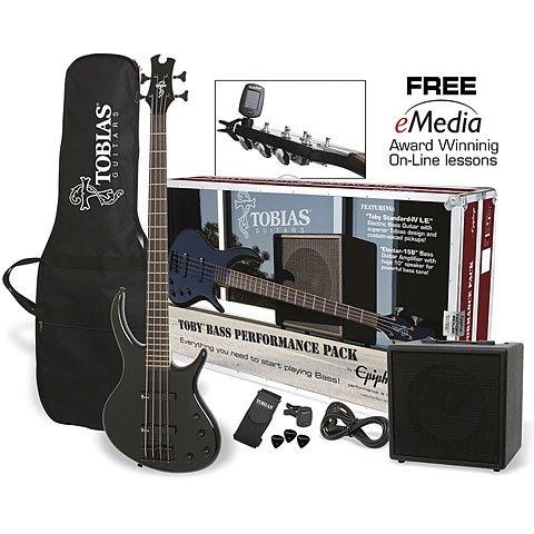 Epiphone Toby Bass Perfomance Pack · E-Bass Set
