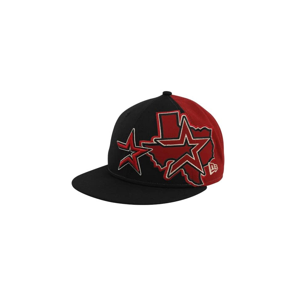 New Era Houston Astros Brick Red Black Side Fill 59FIFTY Fitted Hat