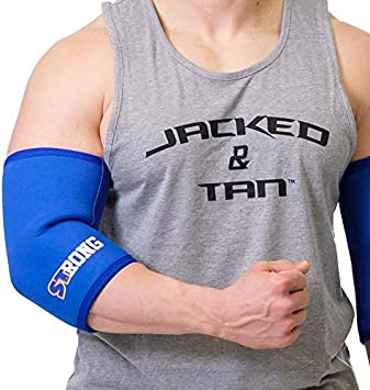 Sling Shot Knee Sleeves 2.0 by Mark Bell 7mm thick neoprene compression Black