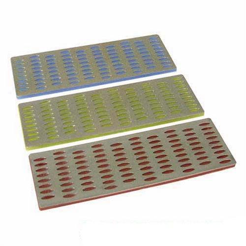 - Silverline Diamond File Card Set 3pce 50 x 150mm