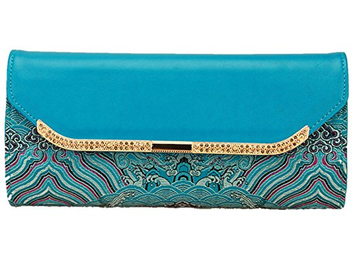 Brocade Purse Embroidered Purse Women's Purse Handbag Wallet Traditional Handiworks by YY-Brocade Purse