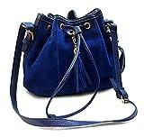 RW Collections Womens Netta Bucket Bag Shoulder Tote Satchel Handbag Purse