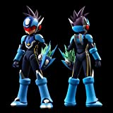 4 Inchineru Mega Man Star Force Shooting Star Rockman (non-scale ABS & PVC painted PVC action figure)