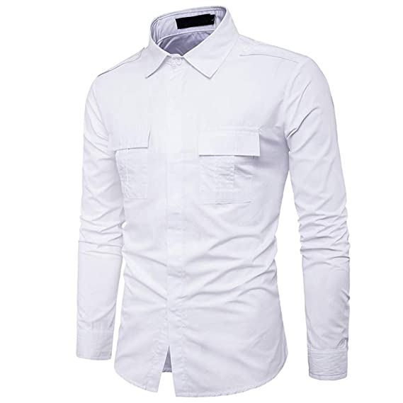 Rawdah_Camisas Hombre Camisas De Hombre De Vestir Camisas De Hombre Blancas Camisas De Hombre Talla Grande
