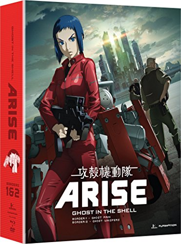 Ghost in the Shell Arise: Borders 1 & 2 (Blu-ray/DVD - Outlets In Sc