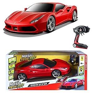 Maisto 1:6 Scale Tech RC Ferrari 488GTB Red Remote Control