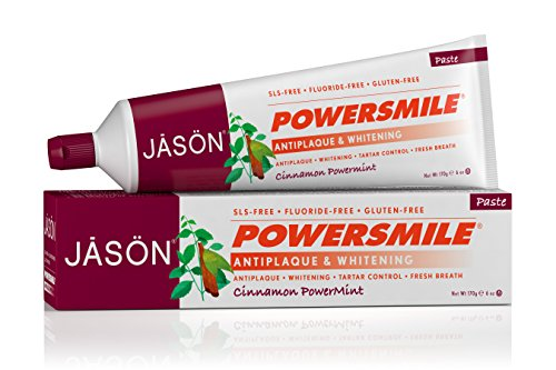 Price comparison product image JASON Powersmile Toothpaste, Cinnamon Peppermint, 6 Ounce