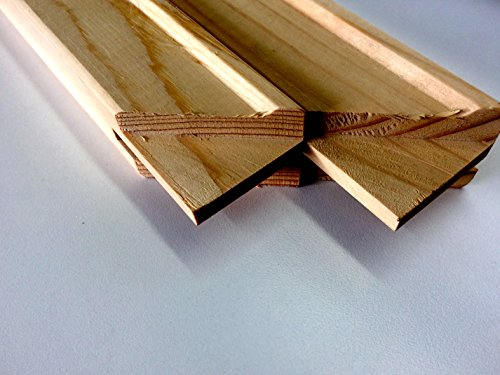 1.5'' Jumbo Art Canvas Stretcher Bar, Stretching Strips. (2 pack) (60'') by Sunbelt Mfg. Co