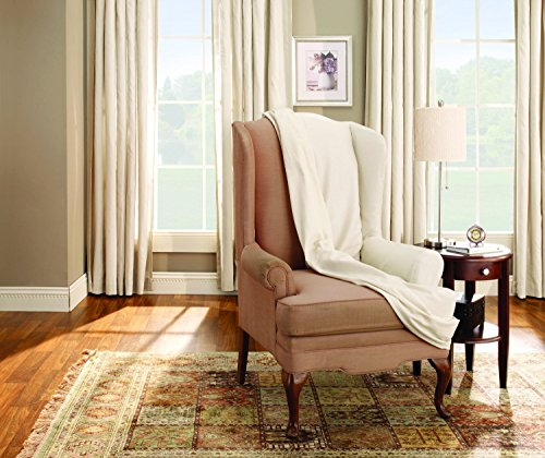 Cotton Wing Chair Natural