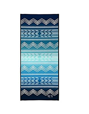 Non-Slip Yoga Towel Highly Absorbent Eco-Friendly Lightweight Washable Non-Toxic Yoga Mat Towel for Men and Women, 72 Inches Long, by Yeti Yoga