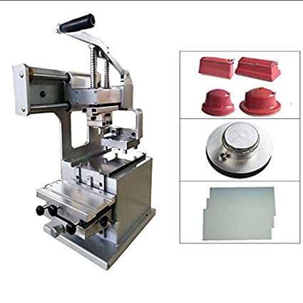 New Pad Printing Kit Press Printer Machine Rubber Pad and