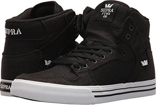 Supra Vaider Skate Schuh Schwarz / Schwarz-Weiß