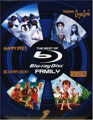 The Best of Blu-ray - Family (Happy Feet / Tim Burton's Corpse Bride / Scooby-Doo / The Ant Bully) by Warner Home Video