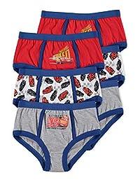 Disney Cars 3 Boys Underwear | Briefs 6-Pack Size 3T