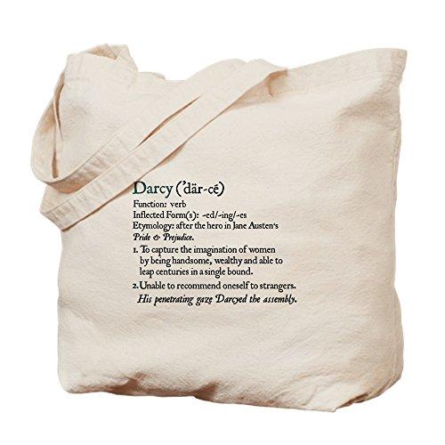 CafePress–Jane Austen Darcy Elizabeth definición–Gamuza de bolsa de lona bolsa, bolsa de la compra Small caqui